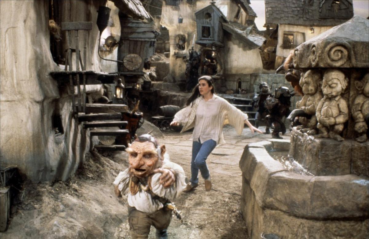 Jennifer Connelly | Tom & Tom : Black Like You Labyrinth 1986
