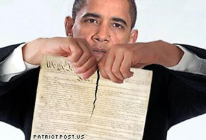 Obama-Shredding-Constitution