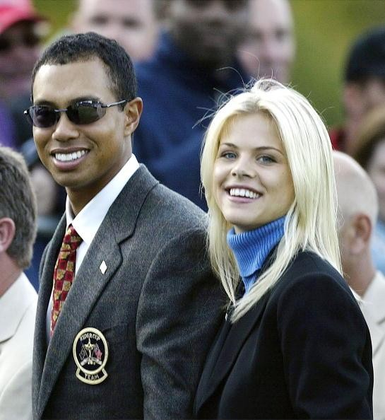 Tiger Woods with Girlfriend Elin Nordegren at Ryder Cup