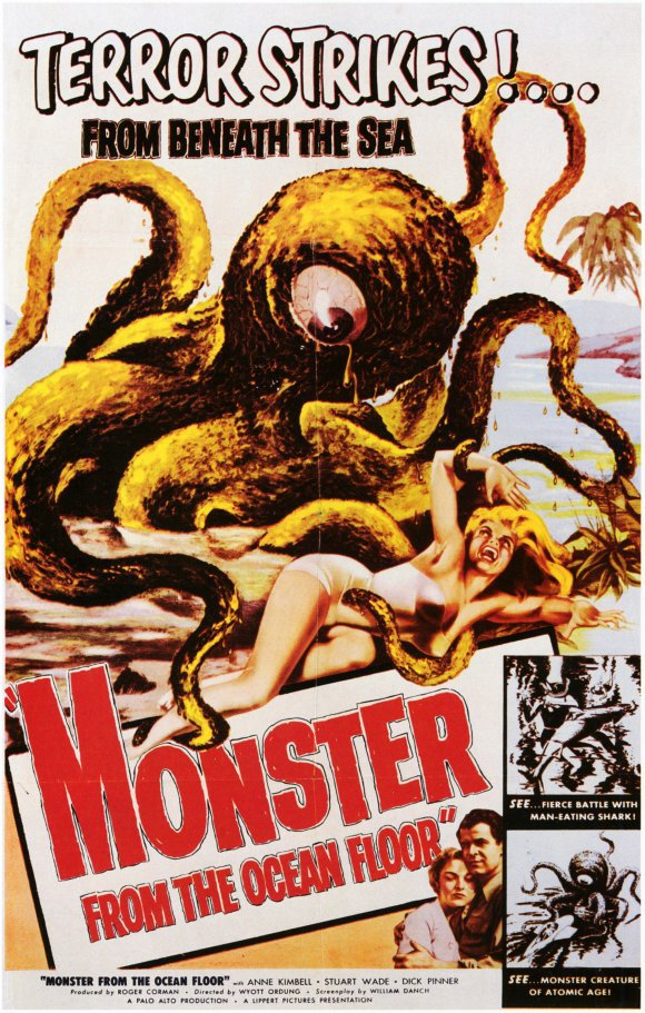 monsterfromtheoceanfloorposter