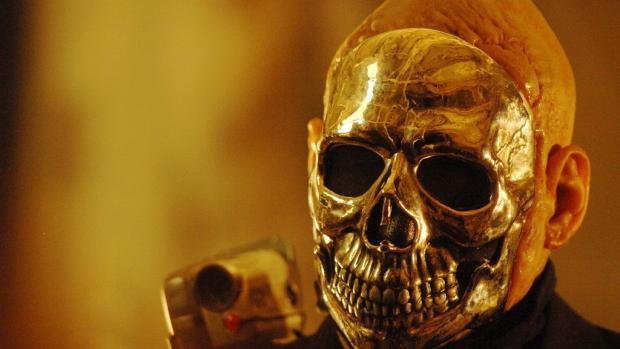 Imagine the Chromeskull mask, for instance.