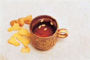 Saenggang_cha,_Korean_tea