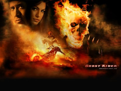 This is the story of the Ghost Rider... franchise.