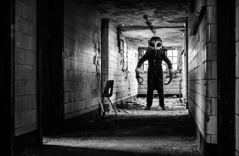 Lord of Tears Owl Man in corridor